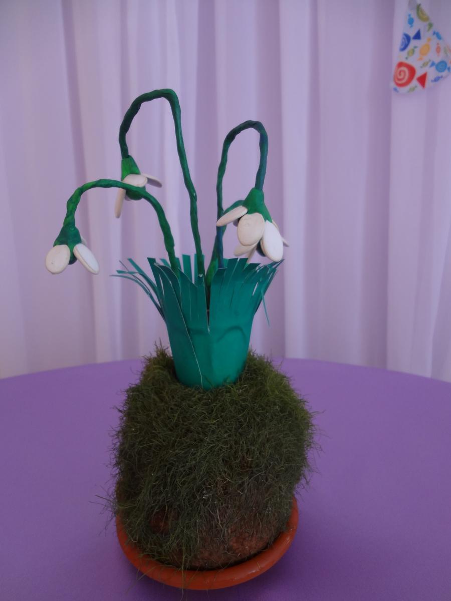 Поделки о весне фото